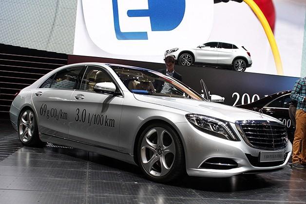Mercedes sẽ sản xuất S-Class Coupe, S500 và C300 plug-in hybrid ảnh 4