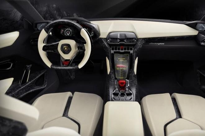 SUV đầu tiên của Lamborghini bán ra vào năm 2017 ảnh 3