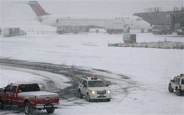 Bờ đông nước Mỹ lại hứng chịu đợt lạnh khủng khiếp ảnh 1