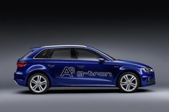 Audi công bố giá bán của A3 Sportback g-tron ảnh 1