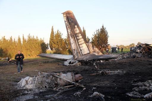 Libya: Máy bay quân đội gặp nạn, 11 người tử vong ảnh 1