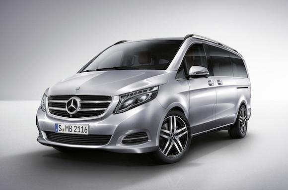 Mercedes V-Class: Tiện lợi, tiết kiệm nhiên liệu ảnh 3