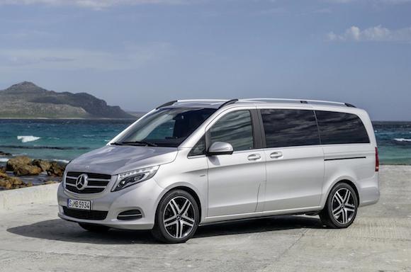 Mercedes V-Class: Tiện lợi, tiết kiệm nhiên liệu ảnh 4