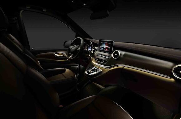 Mercedes V-Class: Tiện lợi, tiết kiệm nhiên liệu ảnh 8