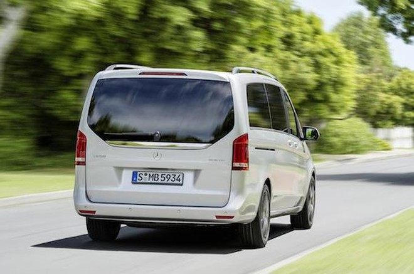 Mercedes V-Class: Tiện lợi, tiết kiệm nhiên liệu ảnh 5