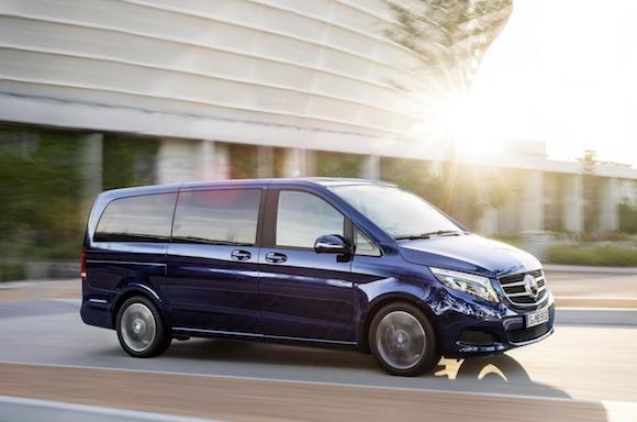Mercedes V-Class: Tiện lợi, tiết kiệm nhiên liệu ảnh 6
