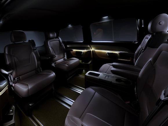 Mercedes V-Class: Tiện lợi, tiết kiệm nhiên liệu ảnh 7