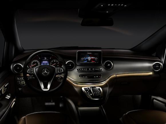 Mercedes V-Class: Tiện lợi, tiết kiệm nhiên liệu ảnh 2