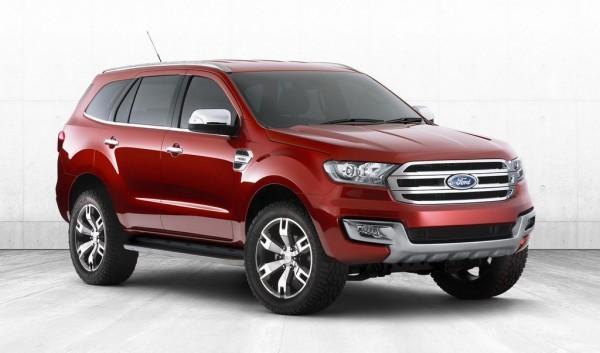 Ford Everest Concept ấn tượng được giới thiệu ở Bangkok ảnh 1