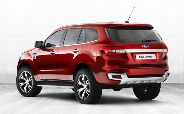 Ford Everest Concept ấn tượng được giới thiệu ở Bangkok ảnh 2