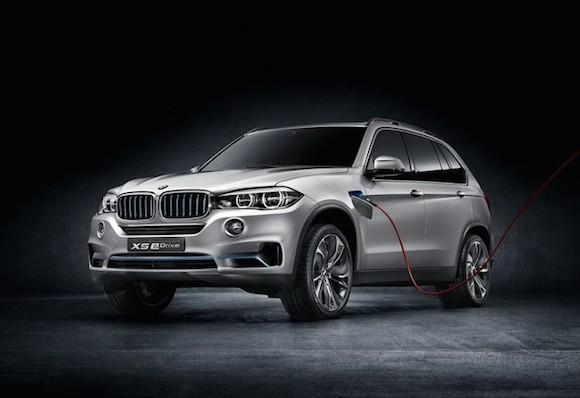 BMW giới thiệu bản nâng cấp của concept X5 eDrive ảnh 1