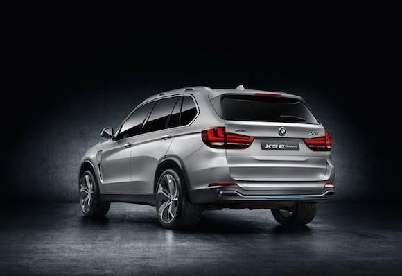 BMW giới thiệu bản nâng cấp của concept X5 eDrive ảnh 4