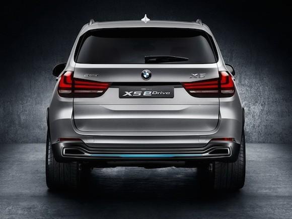 BMW giới thiệu bản nâng cấp của concept X5 eDrive ảnh 5