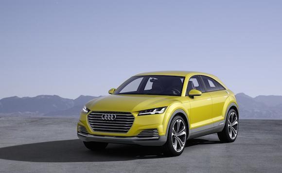 Audi TT offroad concept: Tiện lợi và siêu tiết kiệm ảnh 1