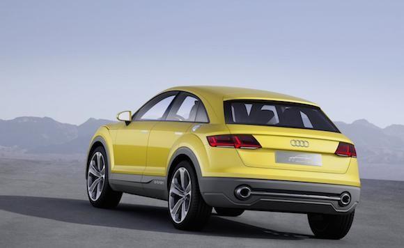Audi TT offroad concept: Tiện lợi và siêu tiết kiệm ảnh 4