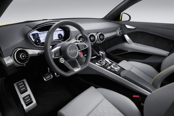 Audi TT offroad concept: Tiện lợi và siêu tiết kiệm ảnh 2