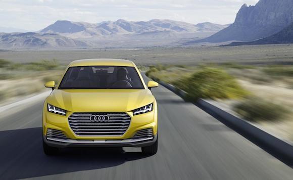 Audi TT offroad concept: Tiện lợi và siêu tiết kiệm ảnh 3