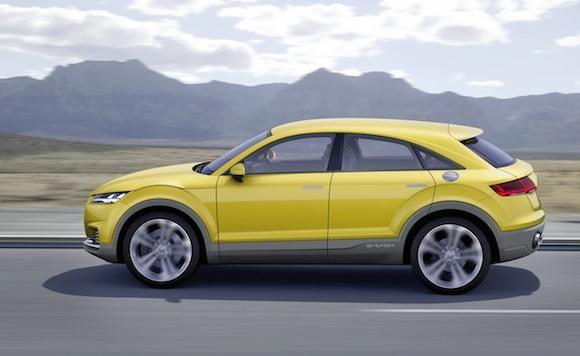 Audi TT offroad concept: Tiện lợi và siêu tiết kiệm ảnh 5