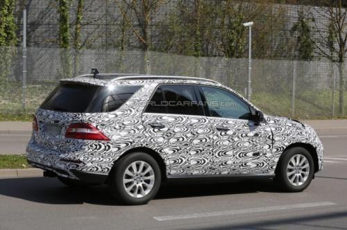 Mercedes M-Class plug-in hybrid sẽ chính thức ra mắt vào 2015 ảnh 2