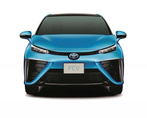 Toyota tiết lộ thiết kế chính thức của chiếc xe chạy bằng hydro ảnh 1