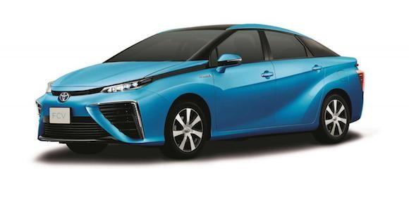 Toyota tiết lộ thiết kế chính thức của chiếc xe chạy bằng hydro ảnh 3