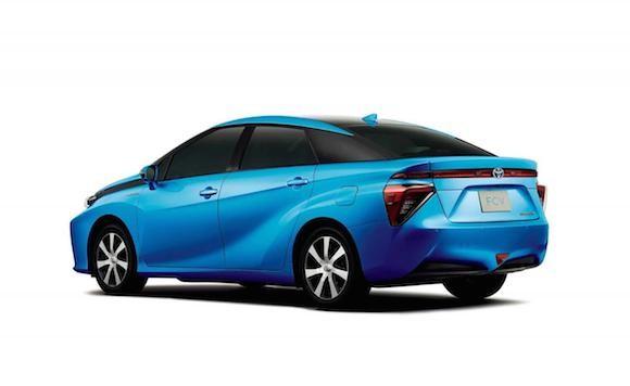 Toyota tiết lộ thiết kế chính thức của chiếc xe chạy bằng hydro ảnh 4