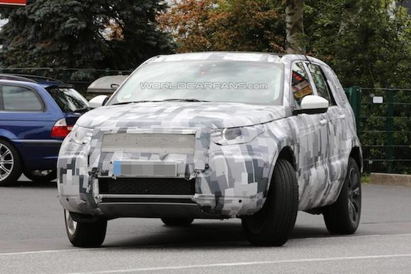 Land Rover Discovery Sport lộ ảnh chụp trộm nội thất ảnh 4