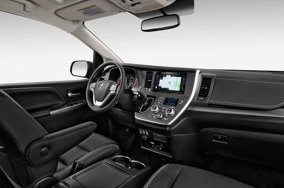 Hình ảnh Toyota Sienna 2015: Chiếc xe hoàn hảo cho mọi gia đình ảnh 2