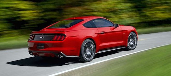 Tiết lộ mới nhất về khối động cơ của Ford Mustang 2015 ảnh 1