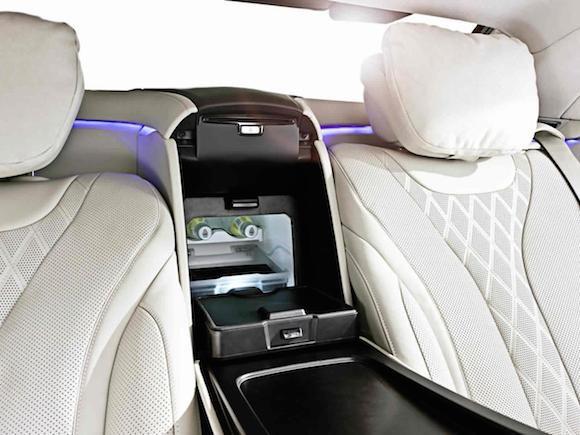 """Mercedes-Benz trình làng """"pháo đài di động"""" - S600 Guard ảnh 9"""