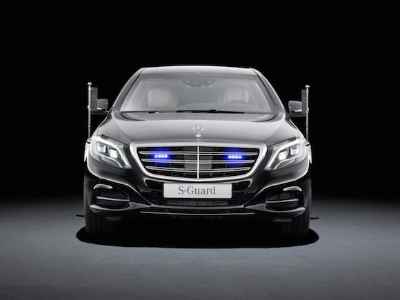 """Mercedes-Benz trình làng """"pháo đài di động"""" - S600 Guard ảnh 1"""