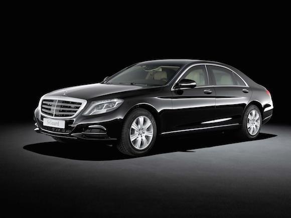 """Mercedes-Benz trình làng """"pháo đài di động"""" - S600 Guard ảnh 3"""