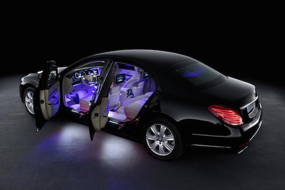 """Mercedes-Benz trình làng """"pháo đài di động"""" - S600 Guard ảnh 4"""