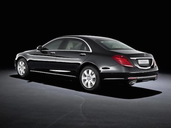 """Mercedes-Benz trình làng """"pháo đài di động"""" - S600 Guard ảnh 5"""