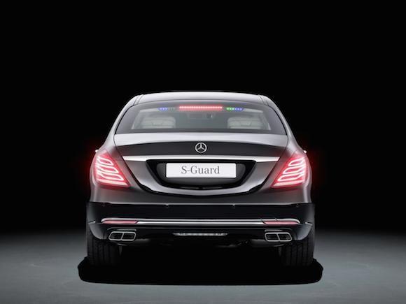 """Mercedes-Benz trình làng """"pháo đài di động"""" - S600 Guard ảnh 6"""