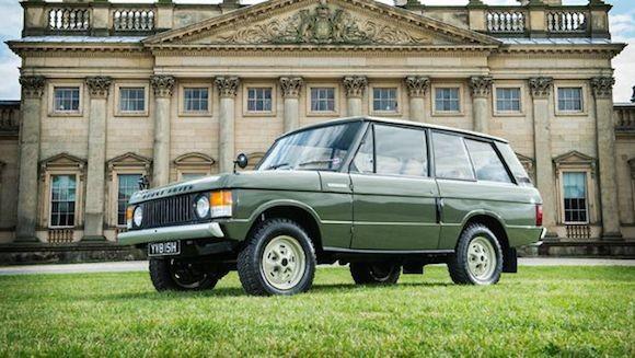 Chiếc Range Rover lâu đời nhất thế giới được đưa lên sàn đấu giá ảnh 1