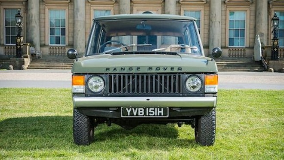 Chiếc Range Rover lâu đời nhất thế giới được đưa lên sàn đấu giá ảnh 2