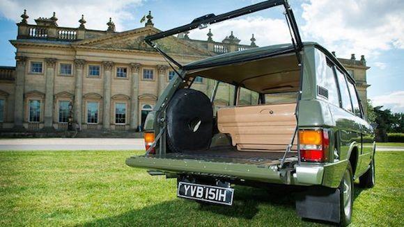 Chiếc Range Rover lâu đời nhất thế giới được đưa lên sàn đấu giá ảnh 5