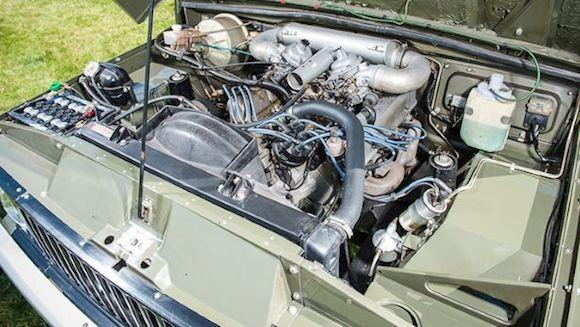 Chiếc Range Rover lâu đời nhất thế giới được đưa lên sàn đấu giá ảnh 7