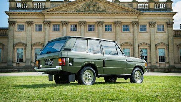 Chiếc Range Rover lâu đời nhất thế giới được đưa lên sàn đấu giá ảnh 4
