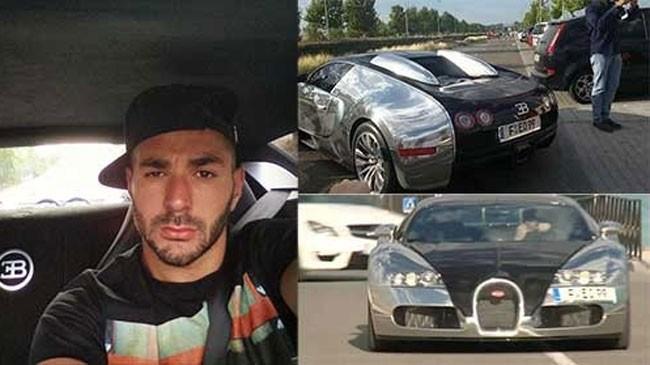 Sao bóng đá Karim Benzema lái Bugatti Veyron 2.67 triệu USD đến sân tập ảnh 1