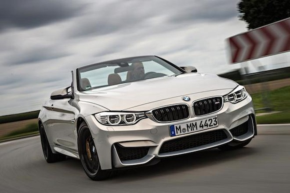 Mãn nhãn với hình ảnh đẹp long lanh của BMW M4 Cabrio ảnh 1