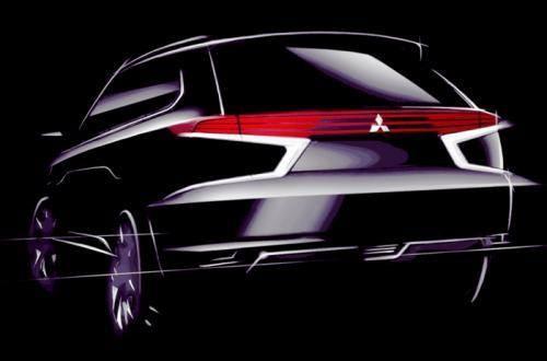 """Mitsubishi Outlander PHEV Concept-S lộ """"ảnh nóng"""" trước ngày ra mắt ảnh 2"""