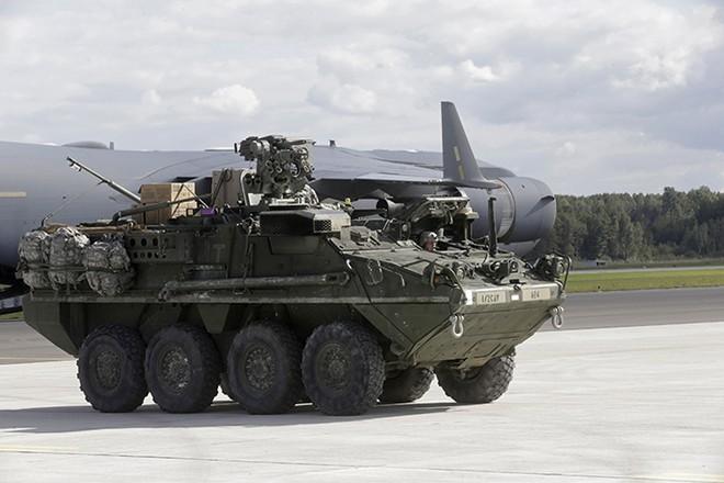 NATO tiếp tục tập trận lớn ở Latvia sau hội nghị thượng đỉnh ảnh 2
