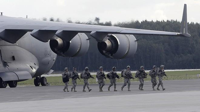 NATO tiếp tục tập trận lớn ở Latvia sau hội nghị thượng đỉnh ảnh 1