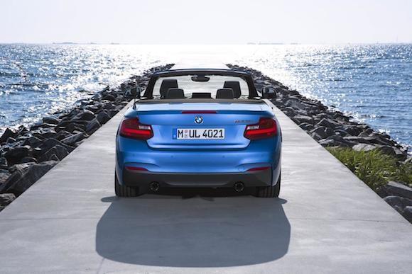 BMW 2-series Convertible: Thiết kế thanh thoát, sức mạnh vượt trội ảnh 4
