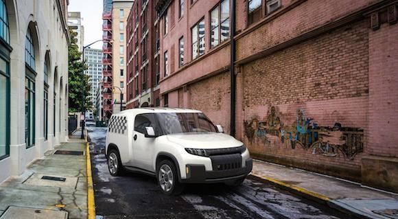 Toyota U2 Concept: Chiếc xe của những đô thị đông đúc ảnh 1