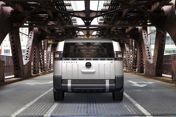 Toyota U2 Concept: Chiếc xe của những đô thị đông đúc ảnh 4