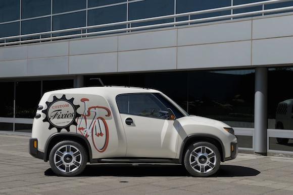 Toyota U2 Concept: Chiếc xe của những đô thị đông đúc ảnh 3
