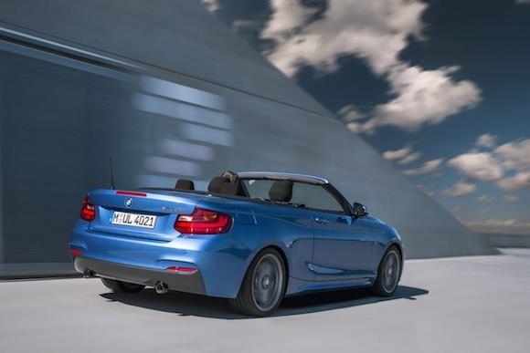 BMW 2-series Convertible: Thiết kế thanh thoát, sức mạnh vượt trội ảnh 5